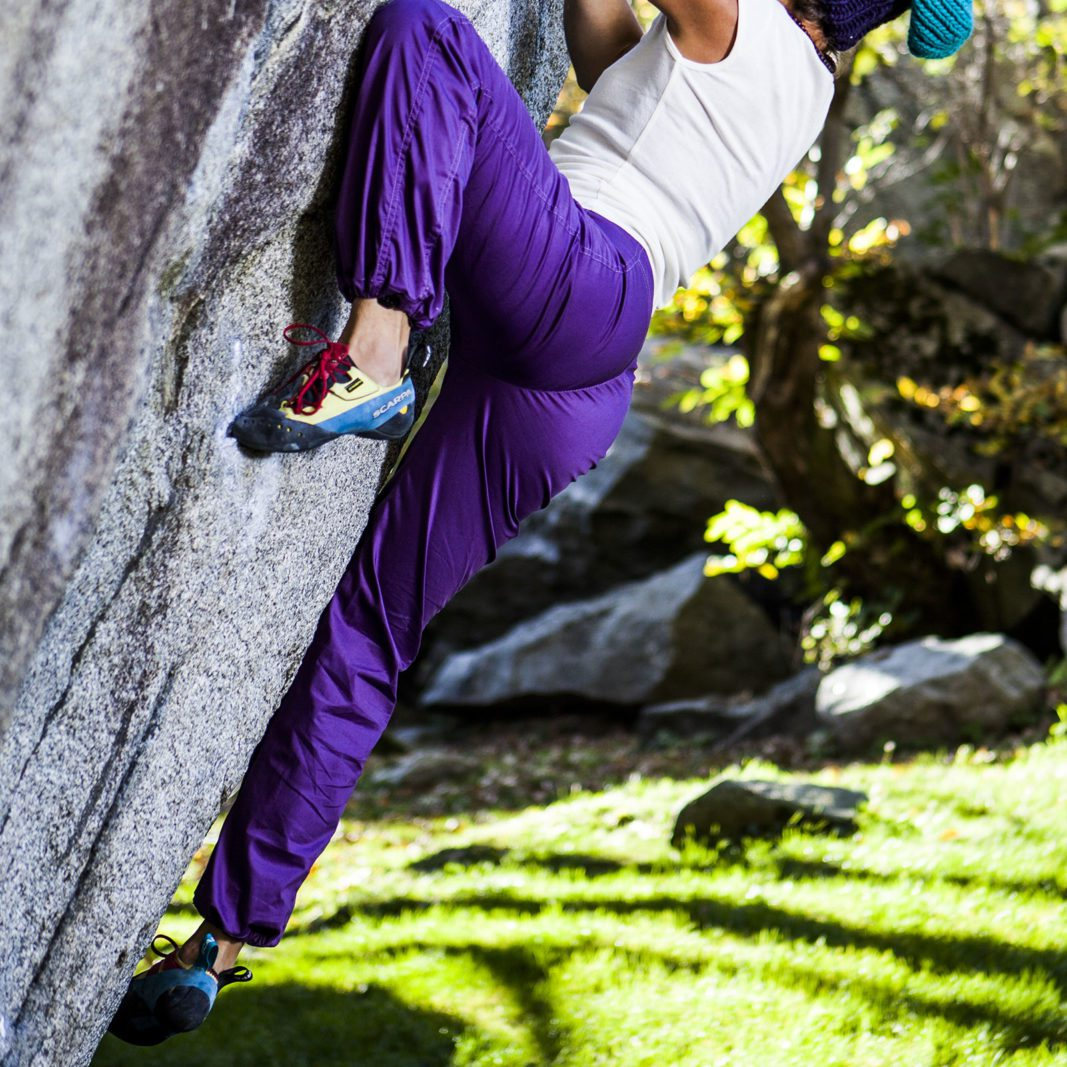 women trousers climbing VIOLET purple