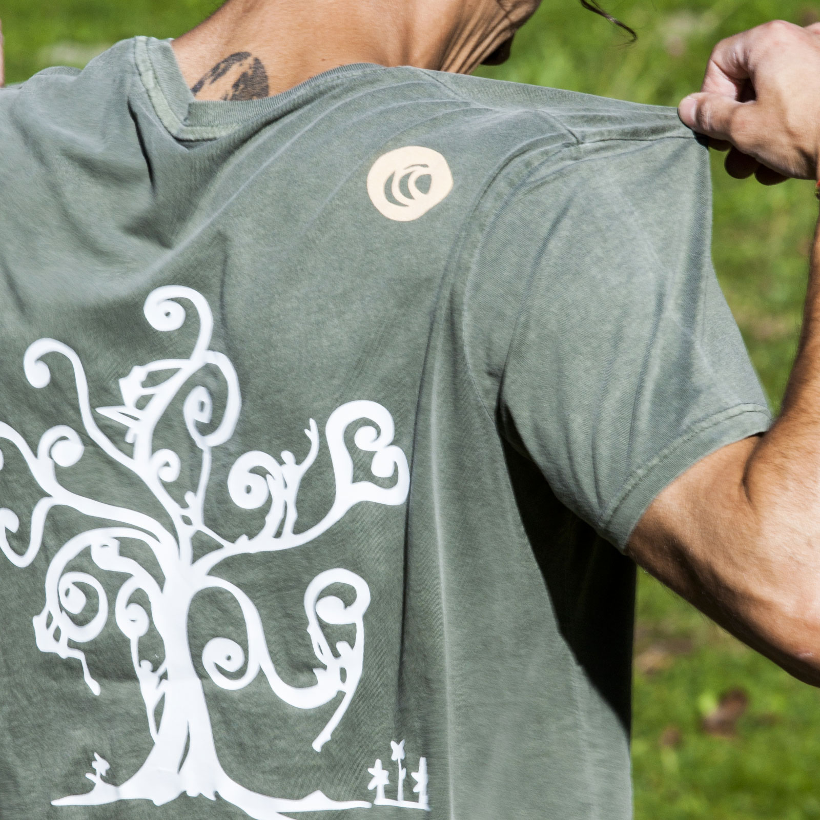 t-shirt homme HASH tree