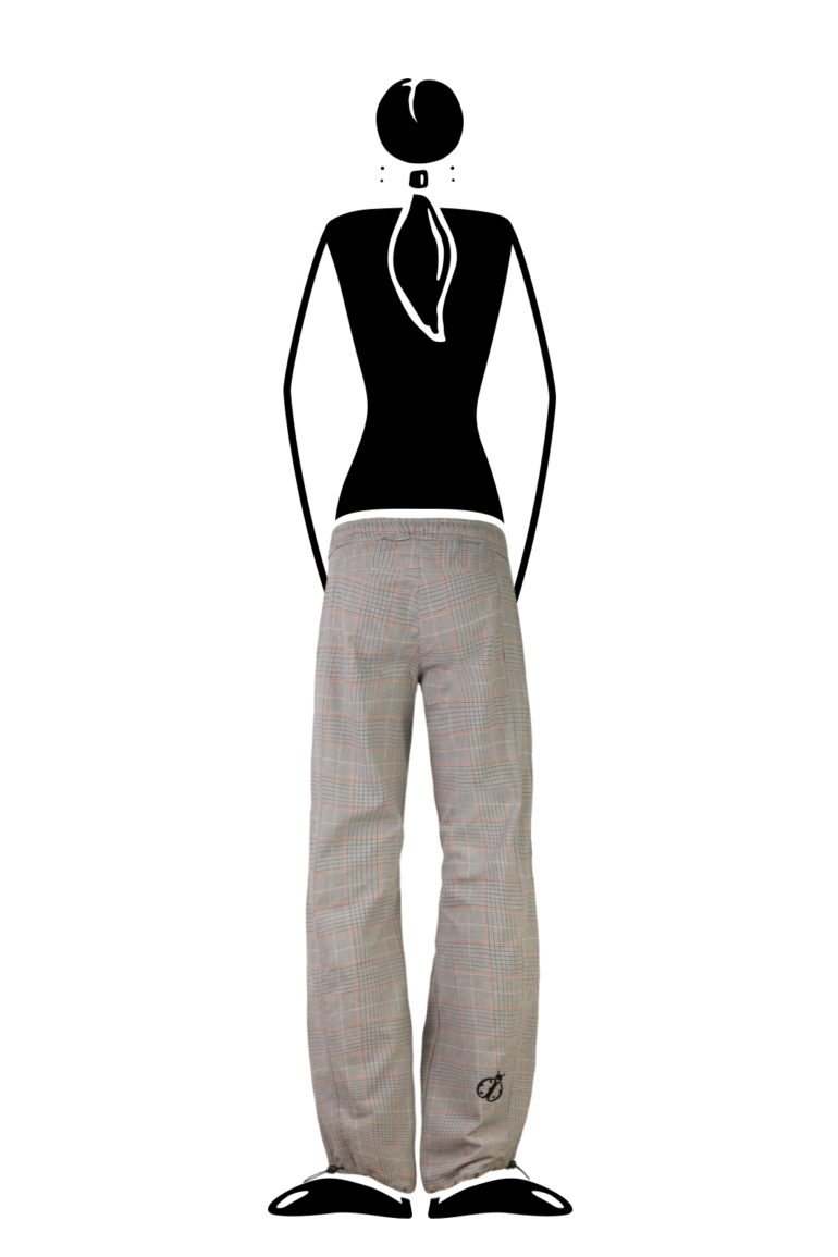 trousers women prince of Wales VIOLET Monvic