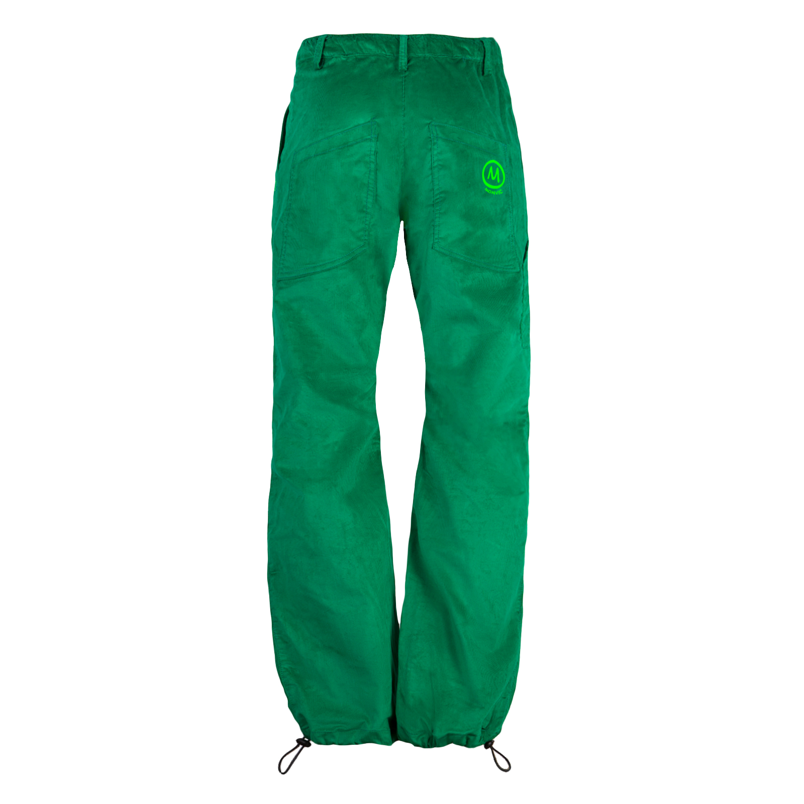 Men's featherwale trousers forest green for climbing GRILLO Monvic