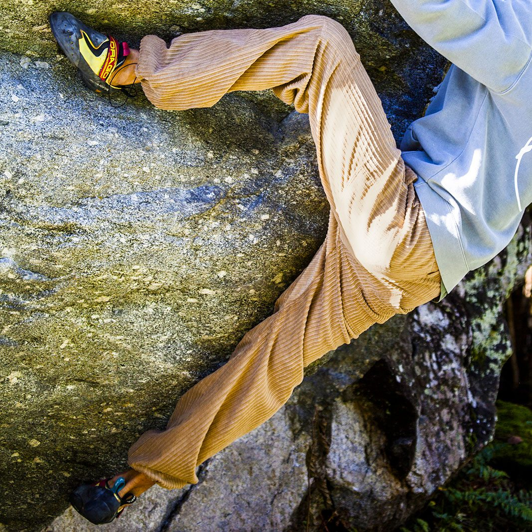 Men's velvet trousers for climbing and sports GRILLO Monvic
