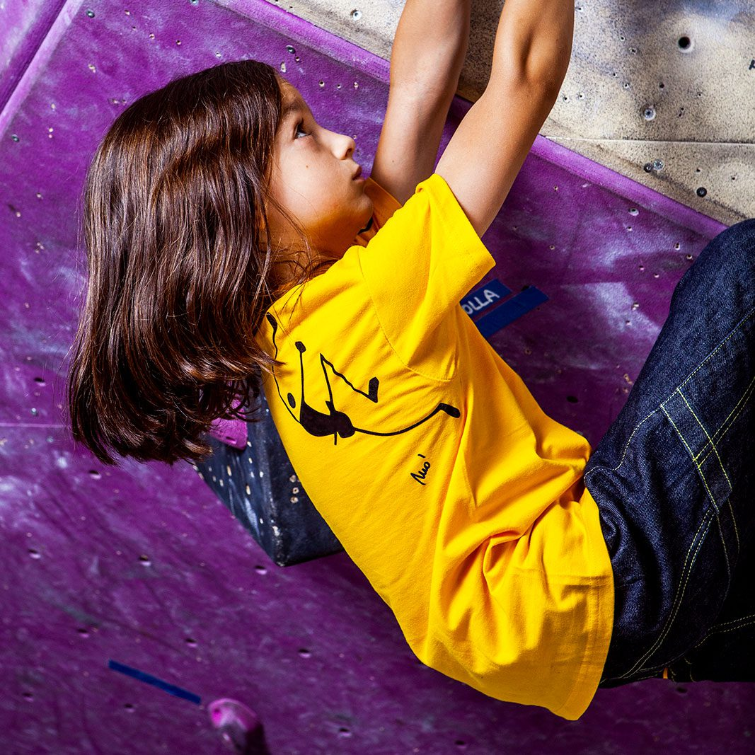children's t-shirt for sports and climbing - TATA Monvic clothing