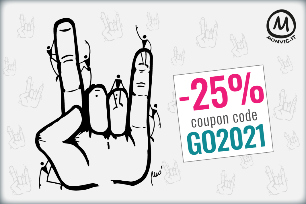 January Sales Month: 25% discount on all products until January 24th with coupon code GO2021 + FREE SHIPPING FROM 200€!