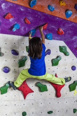 climbing clothing kids - bouldering sportswear fo child