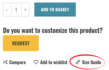 How to check your size
